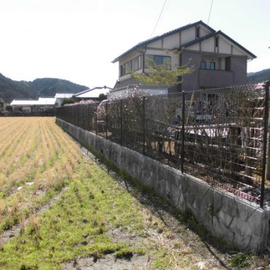 フェンス設置