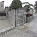 フェンス復旧工事