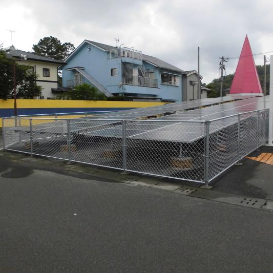 フェンス工事完成